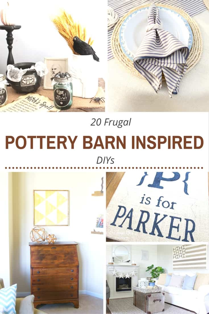 Pottery Barn-Inspired Projects