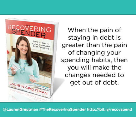 The Recovering Spender - 12 Steps to Freedom