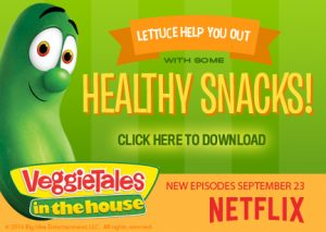 VeggieTales Fresh, Healthy Activity Sheets