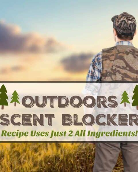 Woods Homemade Scent Blocker
