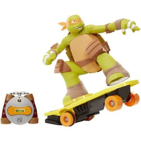 Teenage Mutant Ninja Turtles Remote Control Skateboarding Mikey Review