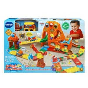 Vtech Go! Go! Smart Wheels Treasure Mountain Train Adventure Review