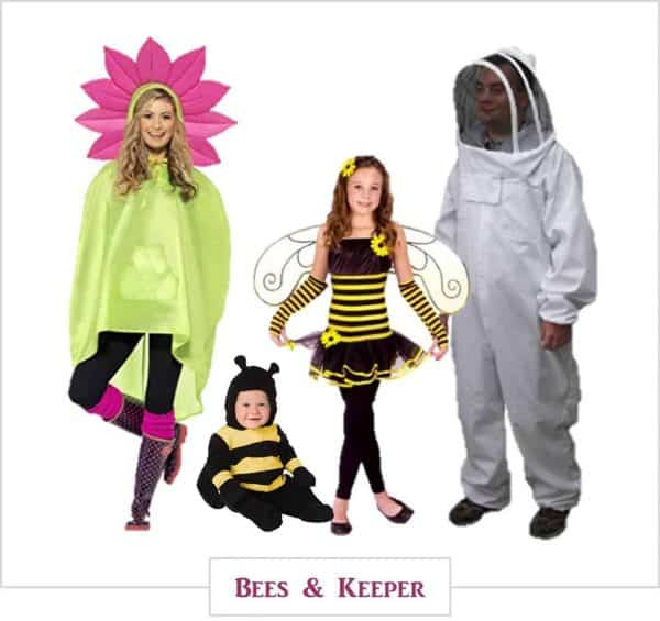 Bees and Keeper,  Halloween Costumes for the Whole Family