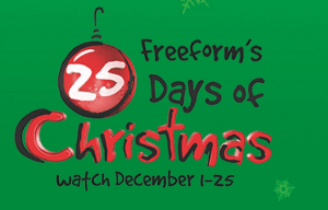 25 Days of Christmas TV Schedule 2016