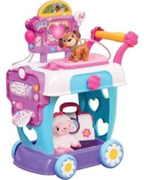 Doc Mcstuffins cart toy