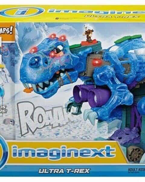 Imaginext T-rex toy