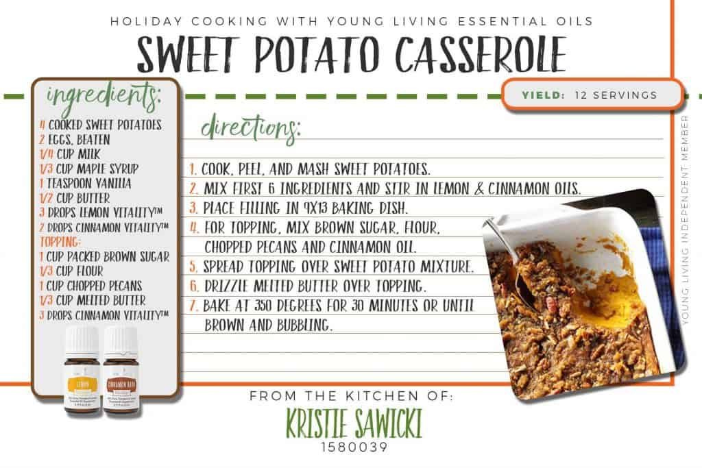 homemade sweet potato casserole recipe