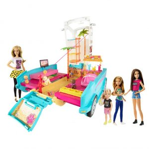 Barbie Ultimate Puppy Mobile & 4 Doll Gift Set $61.99 (Was $139.99)