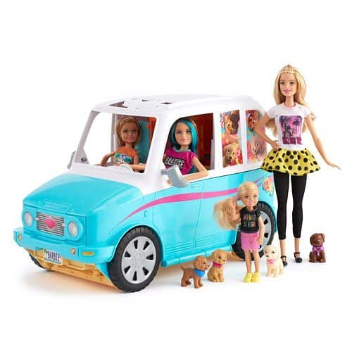Barbie Ultimate Puppy Mobile Amp 4 Doll Gift Set 61 99 Was