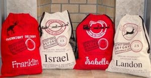 Personalized Oversized Santa Sacks are just $12.99 (Was $29.99)