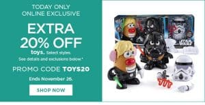 Kohl's HUGE Toy Sale