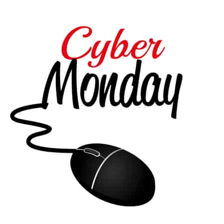 45168007 - cyber monday ecommerce shopping design, vector illustration.