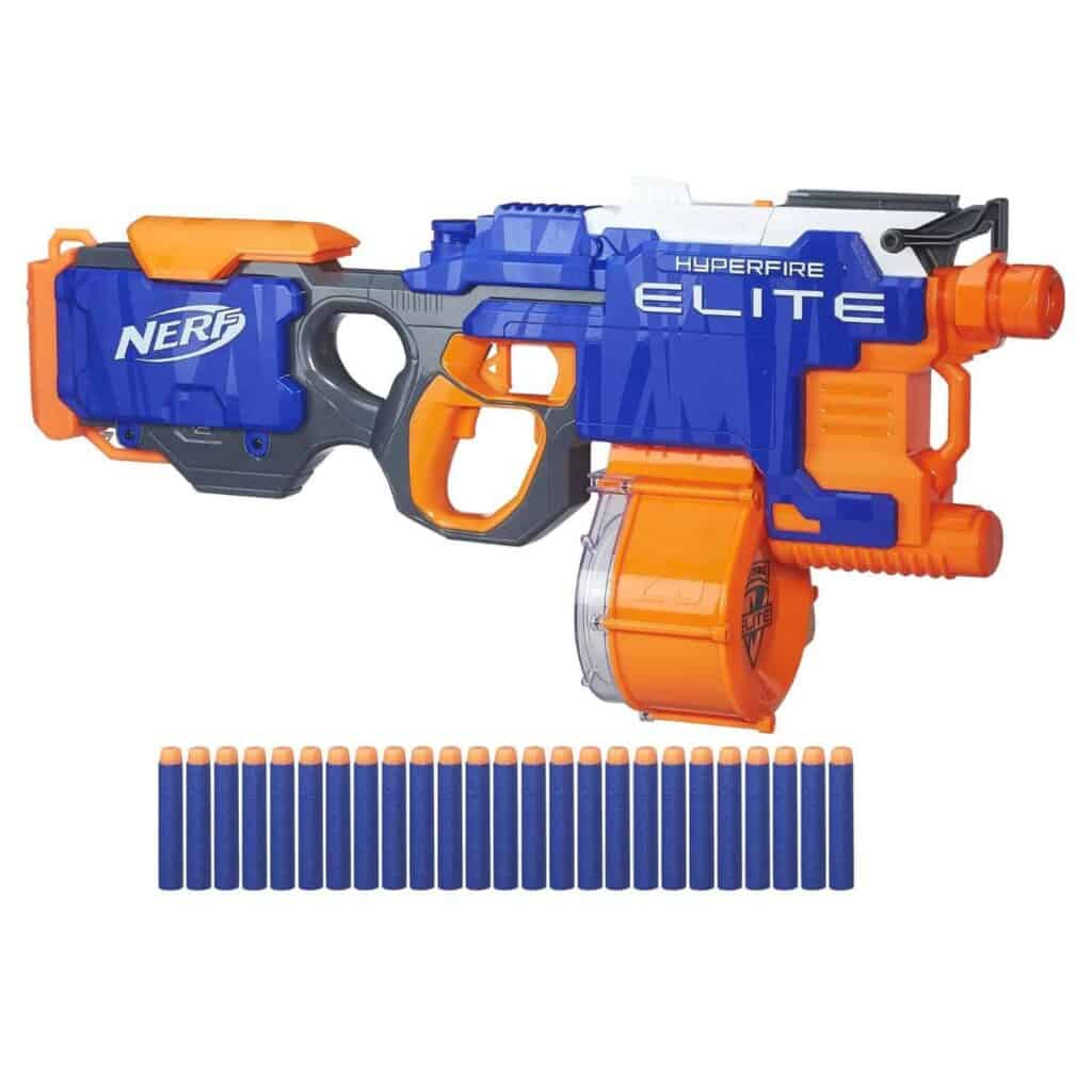 Nerf N-Strike Elite HyperFire Blaster Review