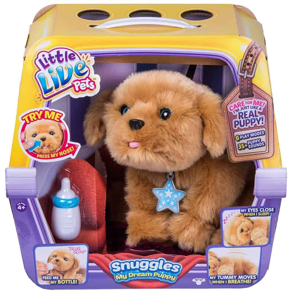 Little Toy Dogs : Little live pets puppy review
