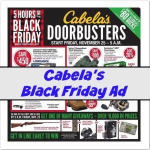 Cabelas Black Friday Deals 2016