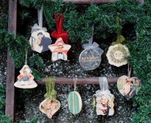 Free Photoboard and Wooden Ornaments