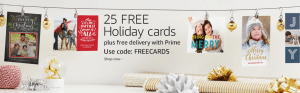 25 Free Photo Card From Amazon