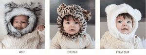 Free Kids Faux Fur Hat ($35 Value)