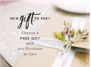 Free Gift From Dayspring With Any Order!