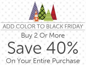 Crocs Black Friday Sale 40% Off