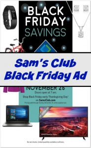 Sam's Club Black Friday Deals 2016