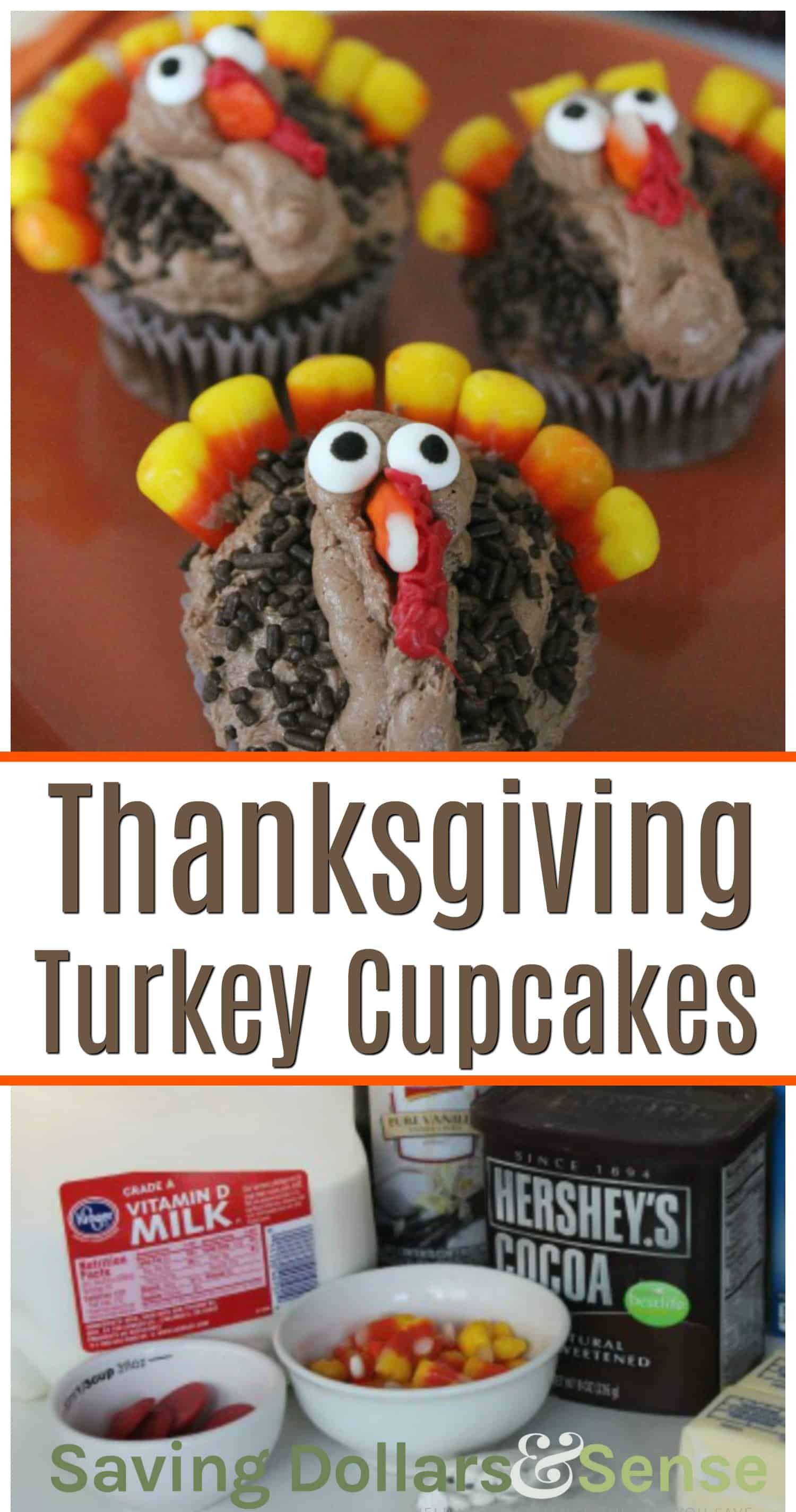 how to make thanksgiving cupcakes