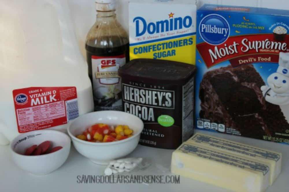 turkey cupcake ingredients
