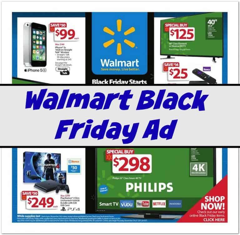 Deals walmart black friday