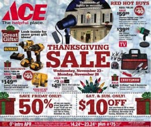 Ace Black Friday Deals 2016
