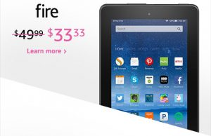 Fire Tablet Deals Starting at $33 Shipped!