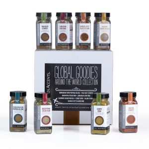 Urban accents global goodies spice collection.