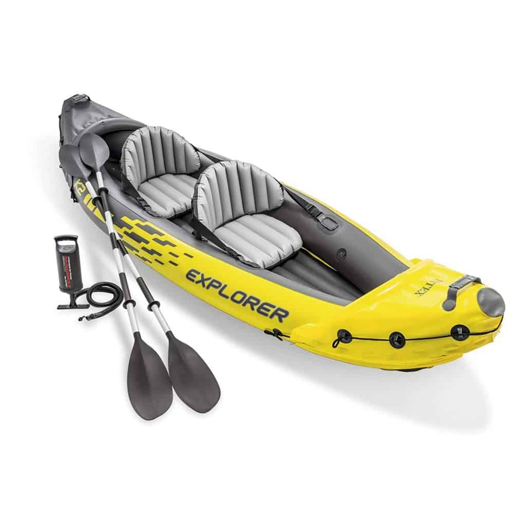 Intex explorer k2 kayak.