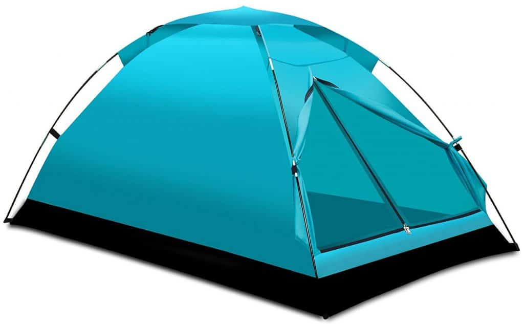Alvantor 2-person camping tent.