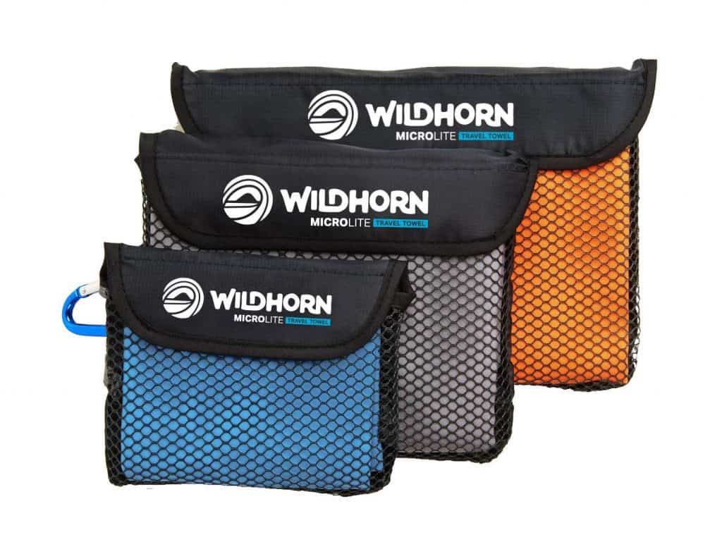 Wildhorn outfitters microlite travel towel bundle.