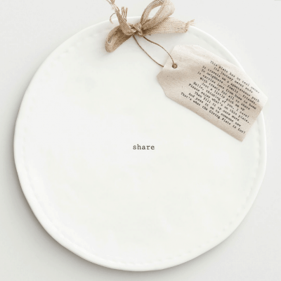 Giving Plates are a Fun Way to Share