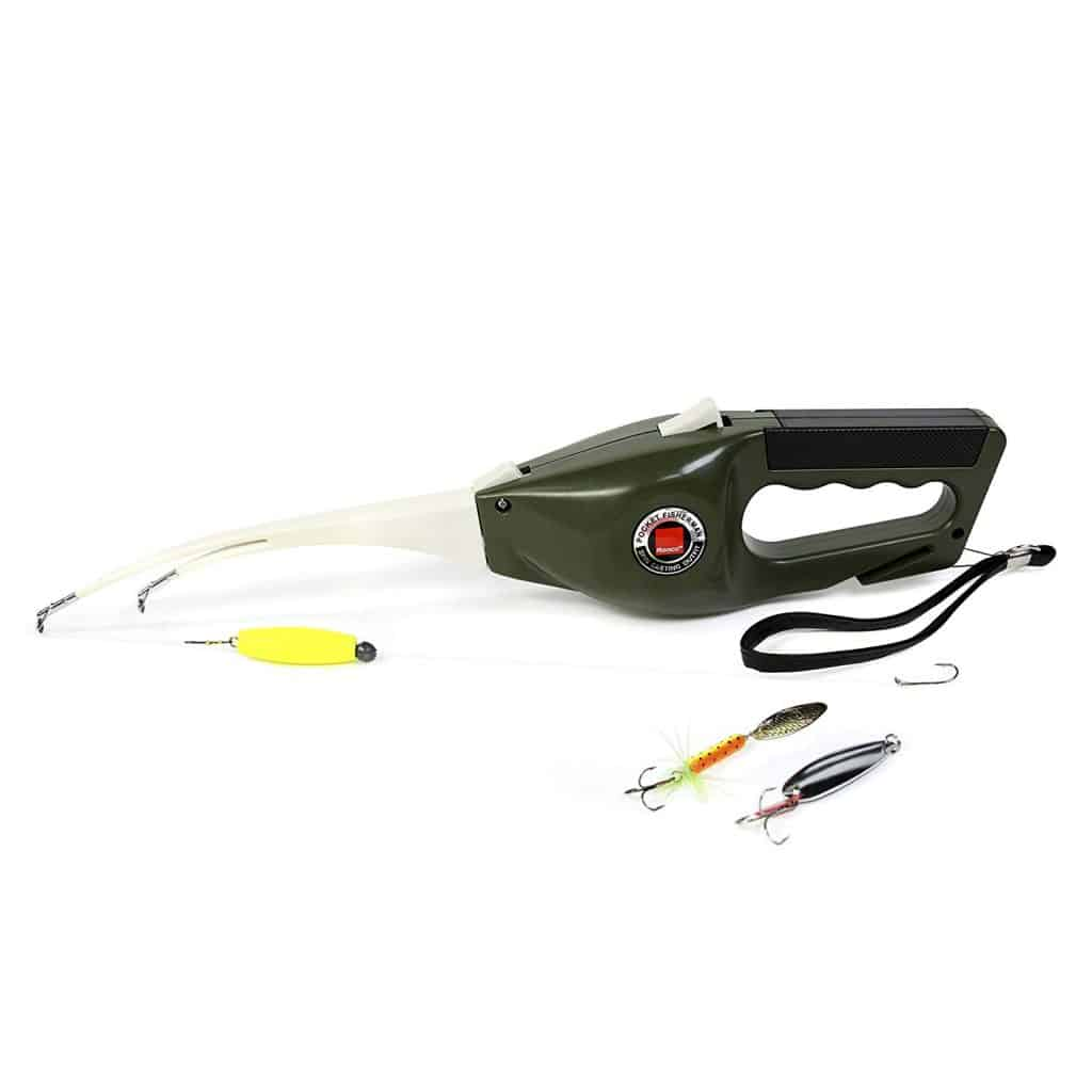 Pocket fisherman fishing pole.