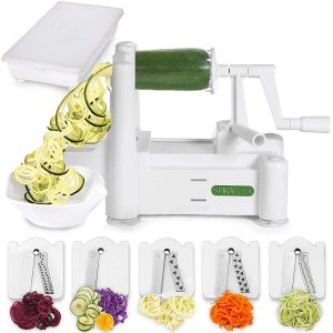 Spiralizer vegetable sliver.