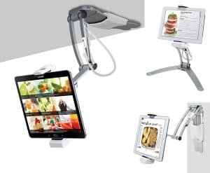CTA digital 2-in-1 tablet kitchen mount.