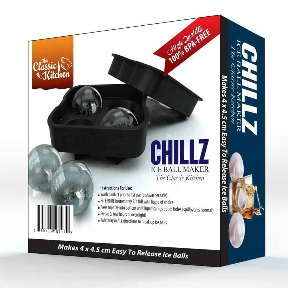 Chillz ice ball maker mold.