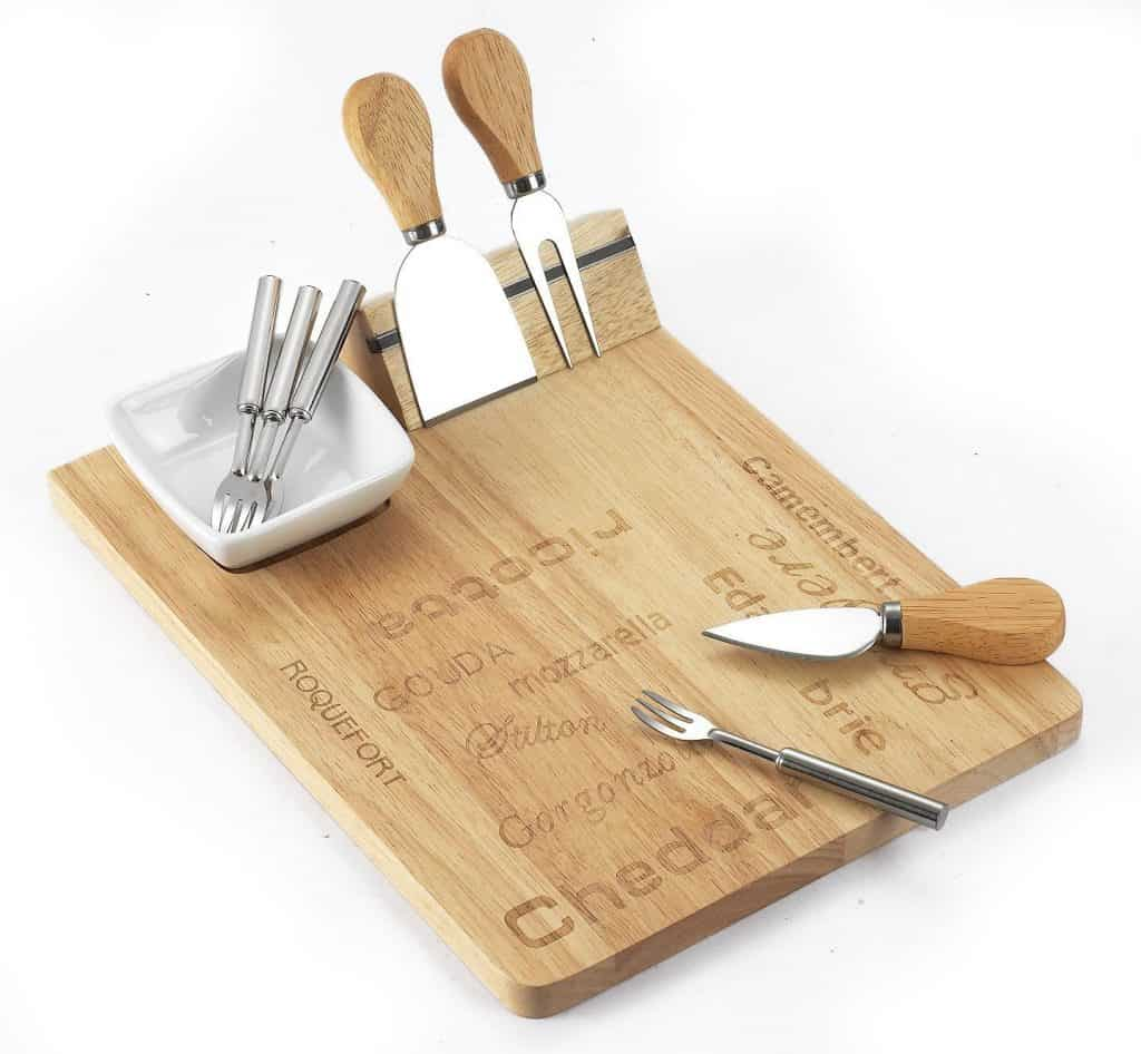 8 piece cheese board set