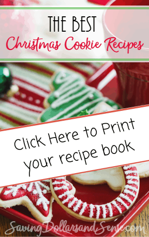 The best Christmas cookie recipe book.