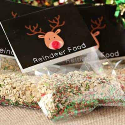 """""""Magic"""" Reindeer Food  Recipe & Printable Poem"""