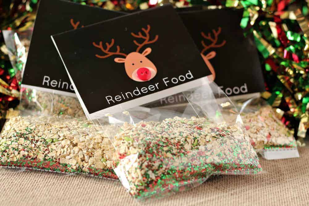 picture regarding Reindeer Food Poem Printable named Magic\
