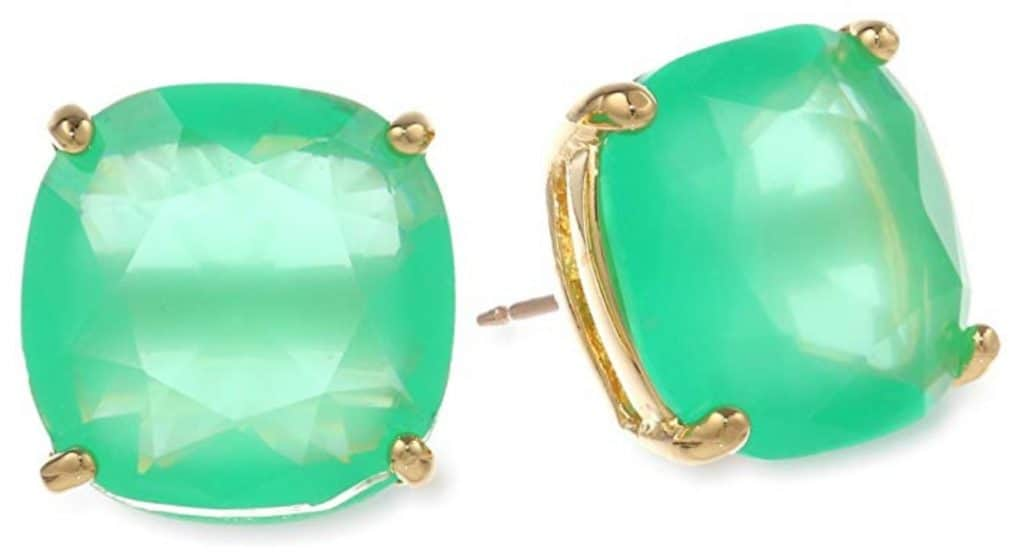 Kate spade beryl green earrings.