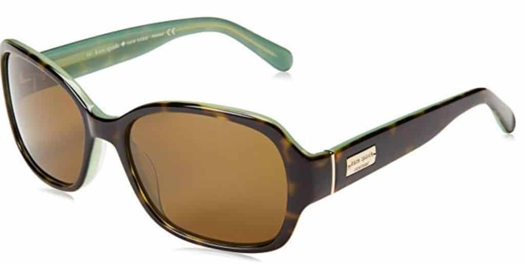 Kate Spade tortoise sunglasses.
