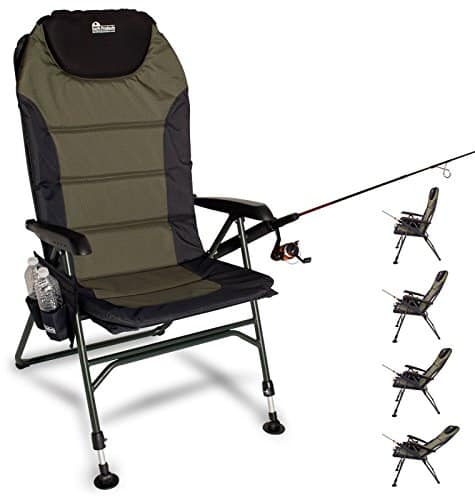 outdoor adjustable fishing chair with adjustable legs