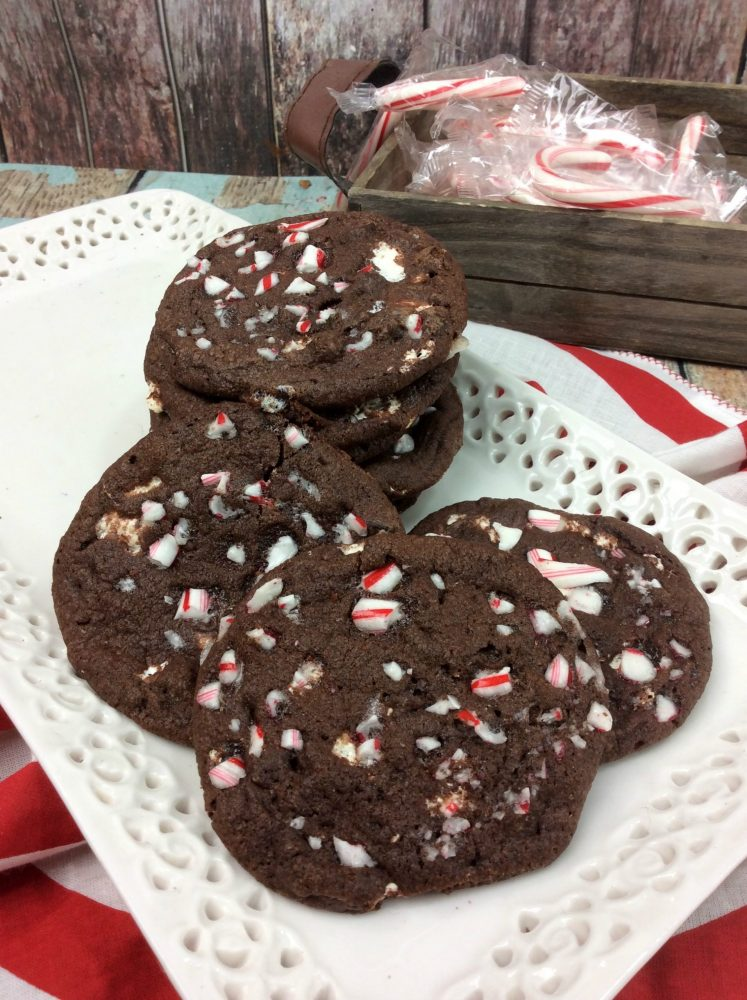 Peppermint Hot Cocoa Cookies (Easy Recipe)