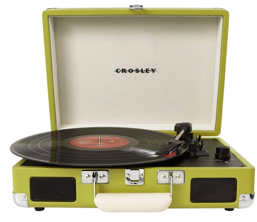 Crosley cruiser  turntable.