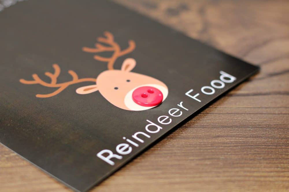 reindeer food lables