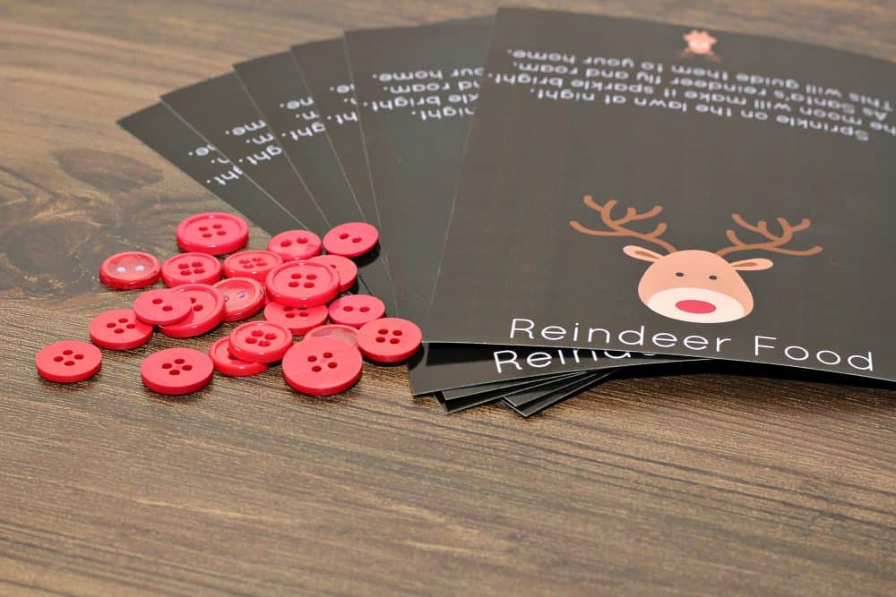 """Magic\"" Reindeer Printable Poem"